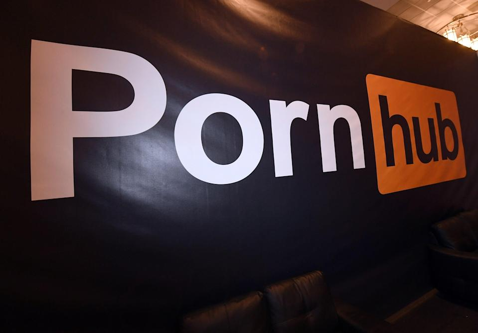 File Image: Pornhub has often been accused of letting content posted without a person's approval remain online  (Getty Images)