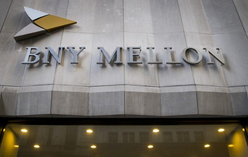 The Bank of New York Mellon Corp. building at 1 Wall St. is seen in New York's financial district