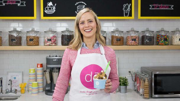 PHOTO: Kristen Tomlan is the founder of DO, a NYC bakery specializing in Instagram-worthy cookie dough treats. (Dina Coloma)
