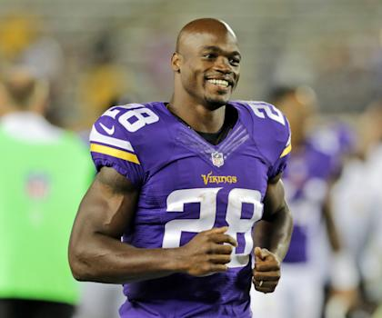 Adrian Peterson appears willing to forfeit a $250,000 bonus in order to make a point (AP)