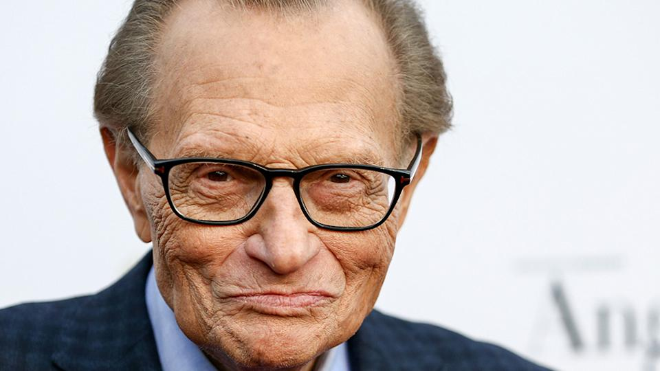 Television star Larry King