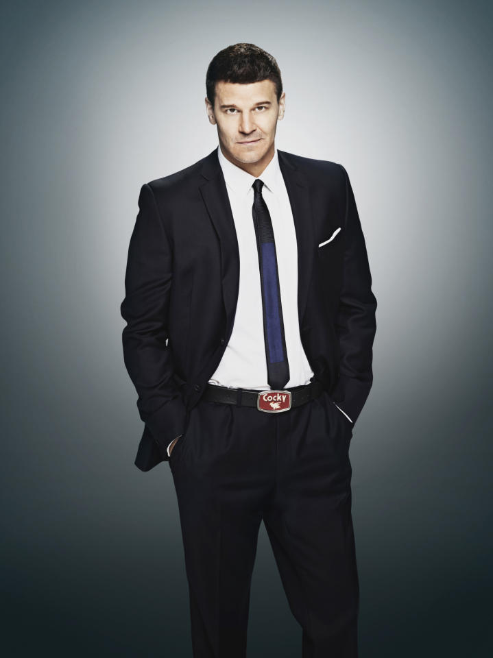 "David Boreanaz as Special Agent Seeley Booth in ""Bones"" Season 9 on Fox."