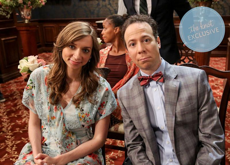 Sheldon And Amy Wedding.Big Bang Theory Wedding Album Get The Exclusive Look Inside