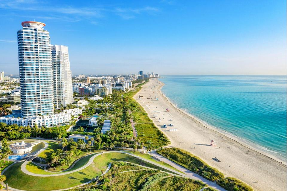 <p>Known as much for its nightlife as it is for its white sands, South Beach is an easy weekend getaway for anyone living on the East Coast.</p>