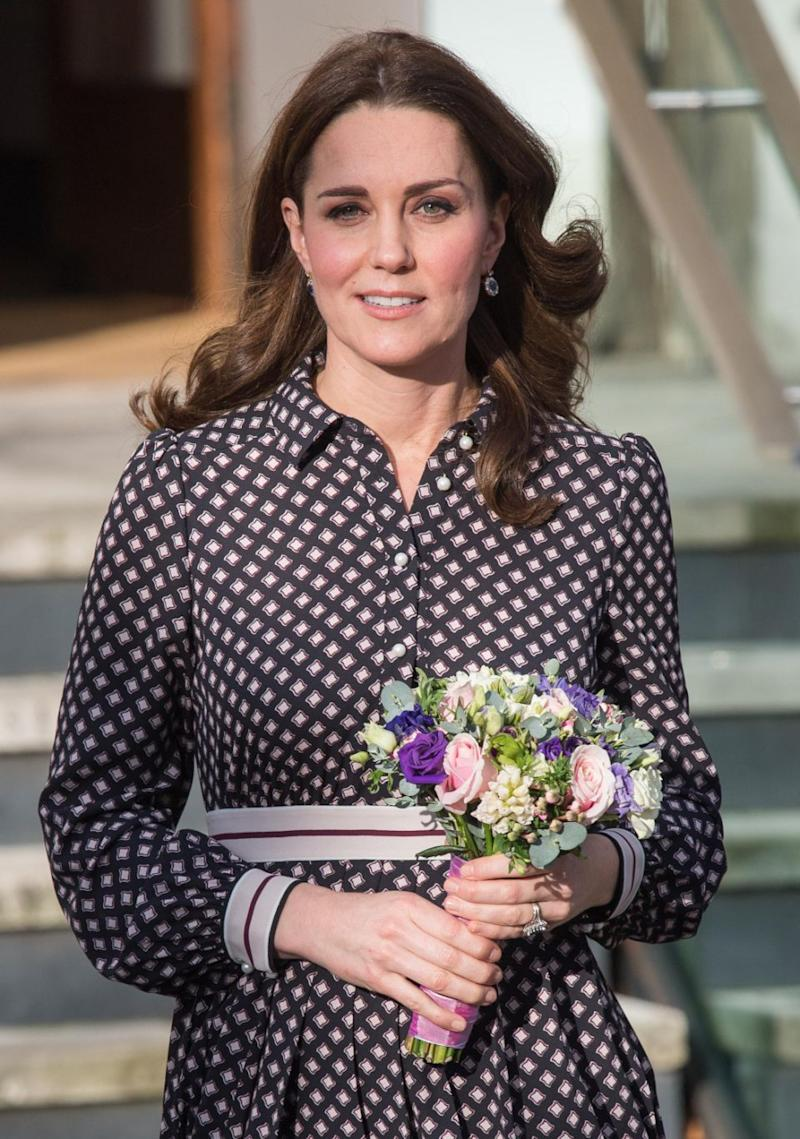Kate is expecting her third baby in April next year. Photo: Getty