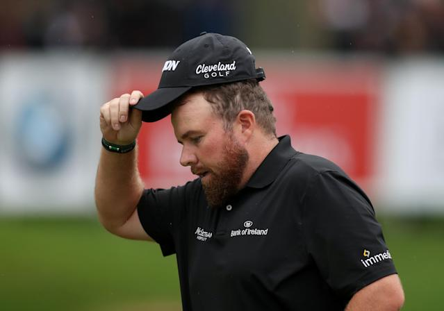 Golf - European Tour - BMW PGA Championship - Wentworth Club, Virginia Water, Britain - May 24, 2018 Ireland's Shane Lowry during the first round Action Images via Reuters/Peter Cziborra