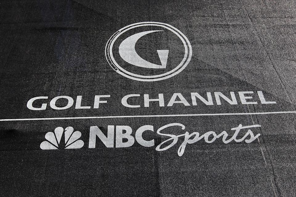 Golf Channel logo.