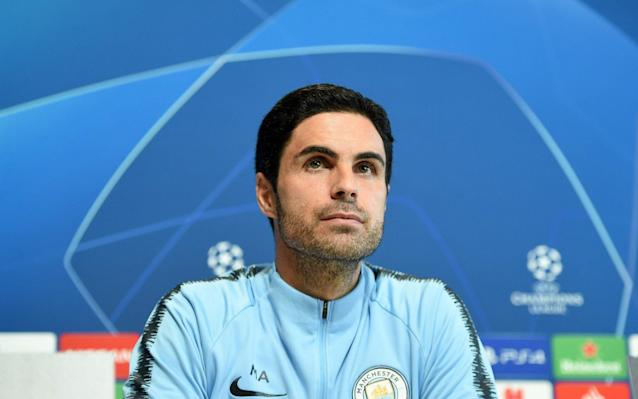 Mikel Arteta believes Manchester City have the best squad in the world - AFP
