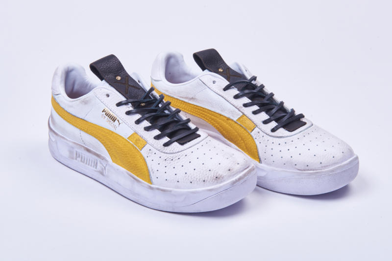 "reputable site 6acba da405 Hold on to your bats, swords and crossbows, folks, because Foot Locker just  announced its newest shoe in its POP by Foot Locker series  Puma x ""The  Walking ..."