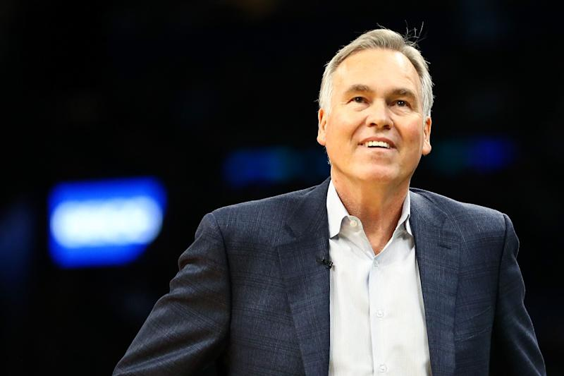 Mike D'Antoni, Rockets Nearing Agreement For Contract Extension