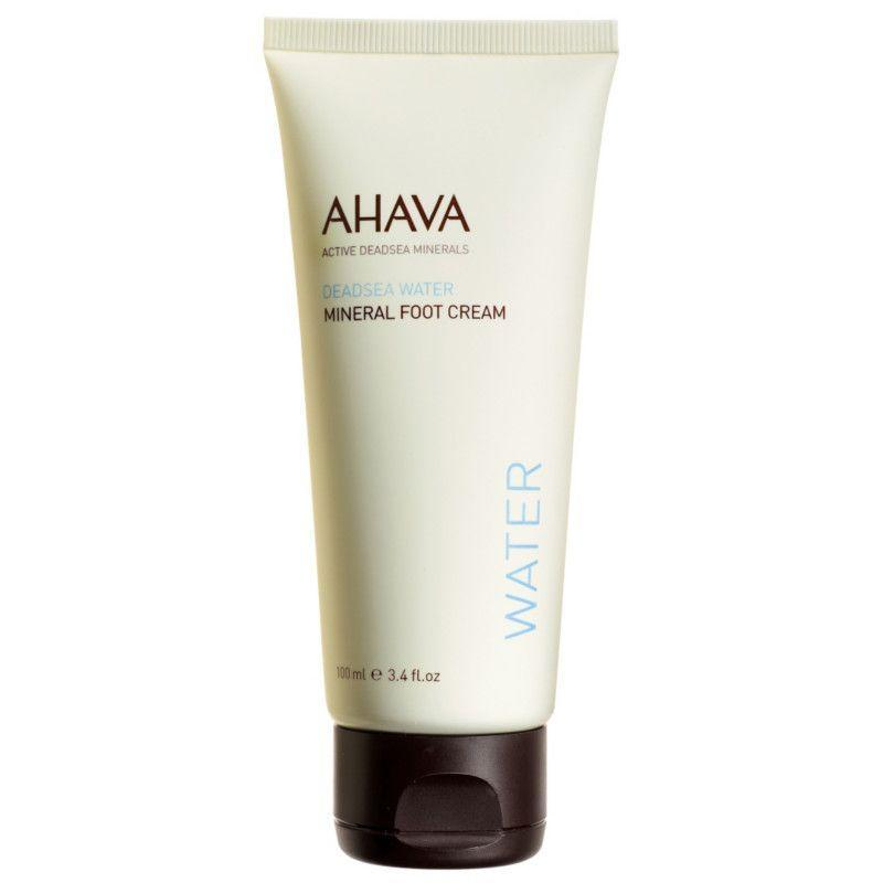 """<p><strong>Ahava</strong></p><p>ulta.com</p><p><strong>$23.00</strong></p><p><a href=""""https://go.redirectingat.com?id=74968X1596630&url=https%3A%2F%2Fwww.ulta.com%2Fmineral-foot-cream%3FproductId%3DxlsImpprod3230235&sref=https%3A%2F%2Fwww.bestproducts.com%2Fbeauty%2Fg34924076%2Fbest-foot-creams%2F"""" rel=""""nofollow noopener"""" target=""""_blank"""" data-ylk=""""slk:Shop Now"""" class=""""link rapid-noclick-resp"""">Shop Now</a></p><p>Powered by natural plant extracts, the Ahava Mineral Foot Cream instantly nourishes, smooths, and moisturizes dry and distressed feet to reveal softer skin. It's formulated with a blend of soothing aloe vera, hydrating jojoba oil, antibacterial tea tree leaf oil, and exfoliating salicylic acid, which all come together to deliver baby-soft realness.</p>"""