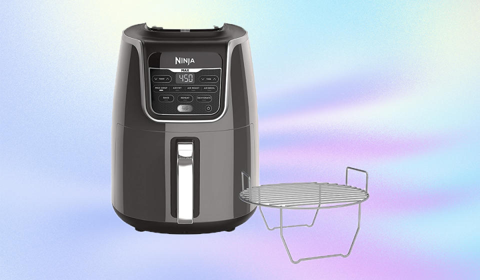 Bring out the kitchen warrior within with the Ninja Max XL.  (Photo: Amazon)