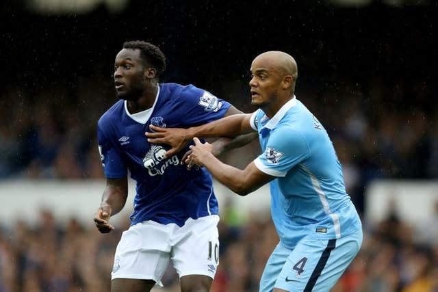 Vincent Kompany has condemned the racist abuse suffered by Romelu Lukaku on Sunday (Richard Sellers/PA)