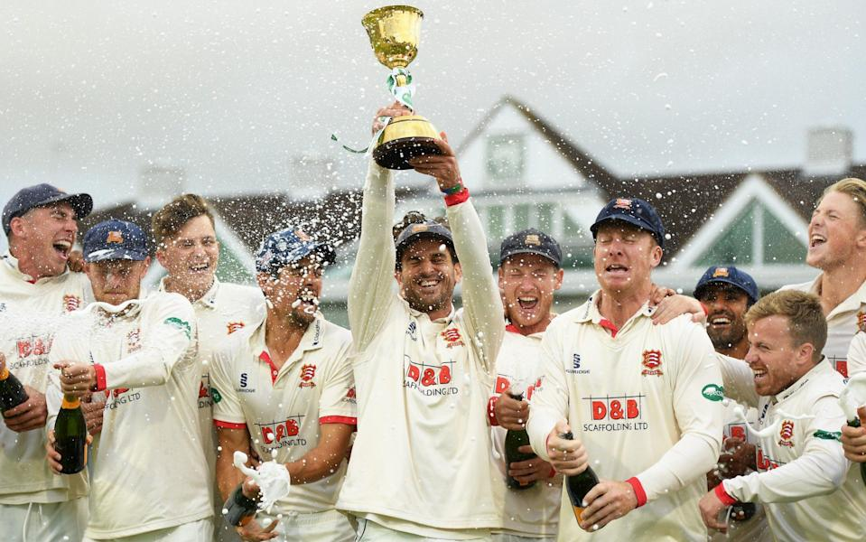 Essex won the County Championship in 2019 - GETTY IMAGES