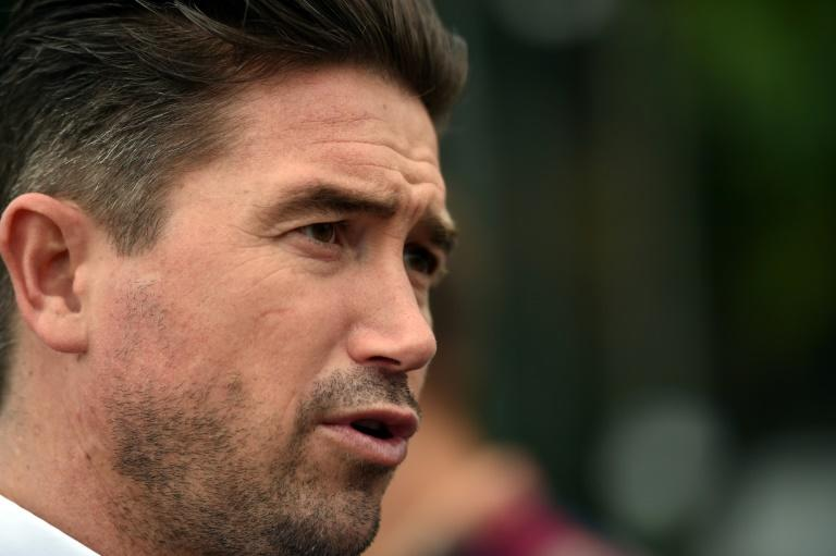 Harry Kewell was named Oldham manager on Saturday