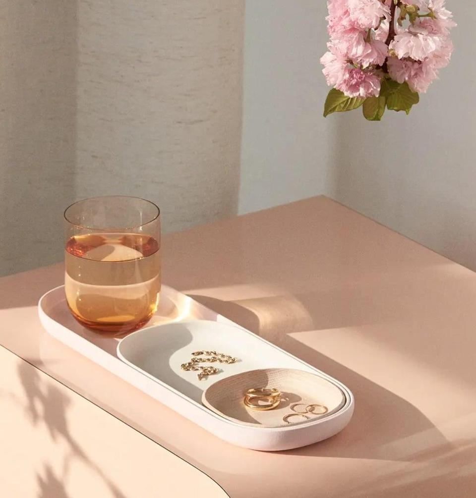 <p>These <span>Open Spaces Nesting Trays </span> ($46) aren't just stylish, but also useful in so many ways. Keep them in the bathroom for products, or on your nightstand for jewelry. They come in four fun color sets, too.</p>
