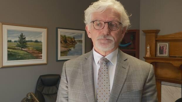 Holland College president Sandy MacDonald says he expects up to 10 people to enrol in the pilot project. (Sarah MacMillan/CBC - image credit)