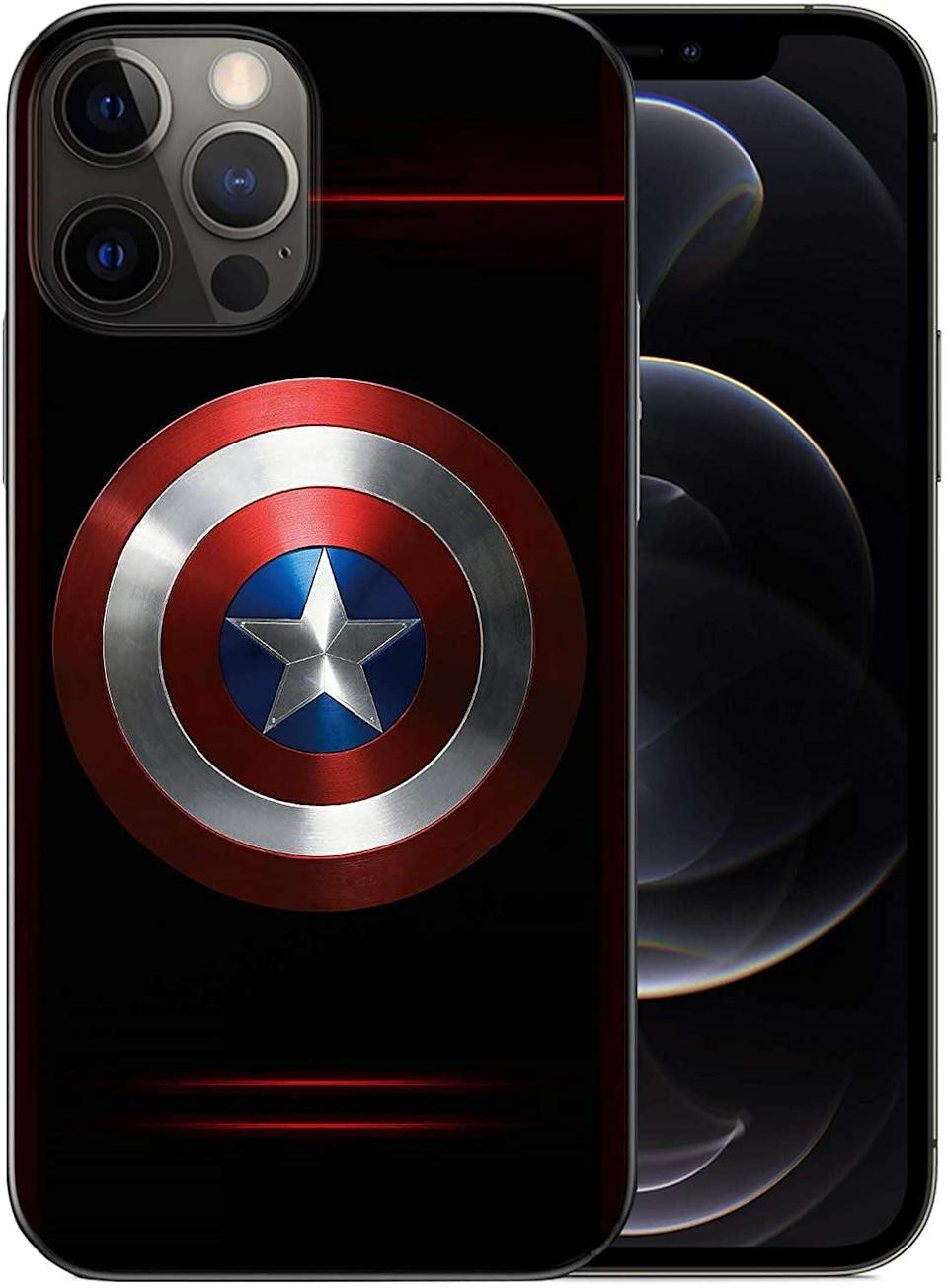 <p>If you love Captain American, the <span>WZFT Slim Fit Captain America Case</span> ($14) is the sheild you never knew you needed.</p>
