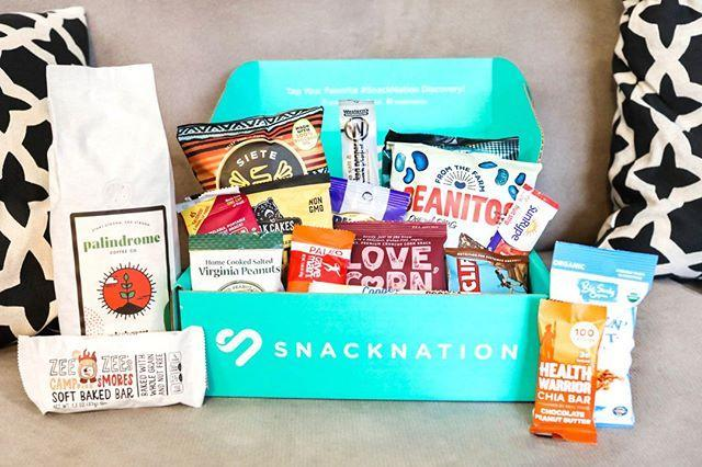 """<p><strong>Best for coffee lovers</strong></p><p>Order a 12-snack subscription box from SnackNation and you'll also receive a one-pound bag of coffee to help power you through your days, whether at work or at home. </p><p>Snacks range from paleo protein bars to artisan Rice Krispies treats, so you're guaranteed to score something for every craving. </p><p> Another perk: Thanks to their partnership with Feeding America, Snacknation donates one meal for every box sold. </p><p><strong>Price: </strong>Starts at $34.95/month </p><p><a class=""""link rapid-noclick-resp"""" href=""""https://shop.snacknation.com/"""" rel=""""nofollow noopener"""" target=""""_blank"""" data-ylk=""""slk:CHECK OUT SNACKNATION"""">CHECK OUT SNACKNATION</a></p><p><a href=""""https://www.instagram.com/p/B9zPgT2l9GP/"""" rel=""""nofollow noopener"""" target=""""_blank"""" data-ylk=""""slk:See the original post on Instagram"""" class=""""link rapid-noclick-resp"""">See the original post on Instagram</a></p>"""