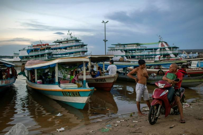Boats are a way of life in Tefe -- the only way in and out of town is by air or by river