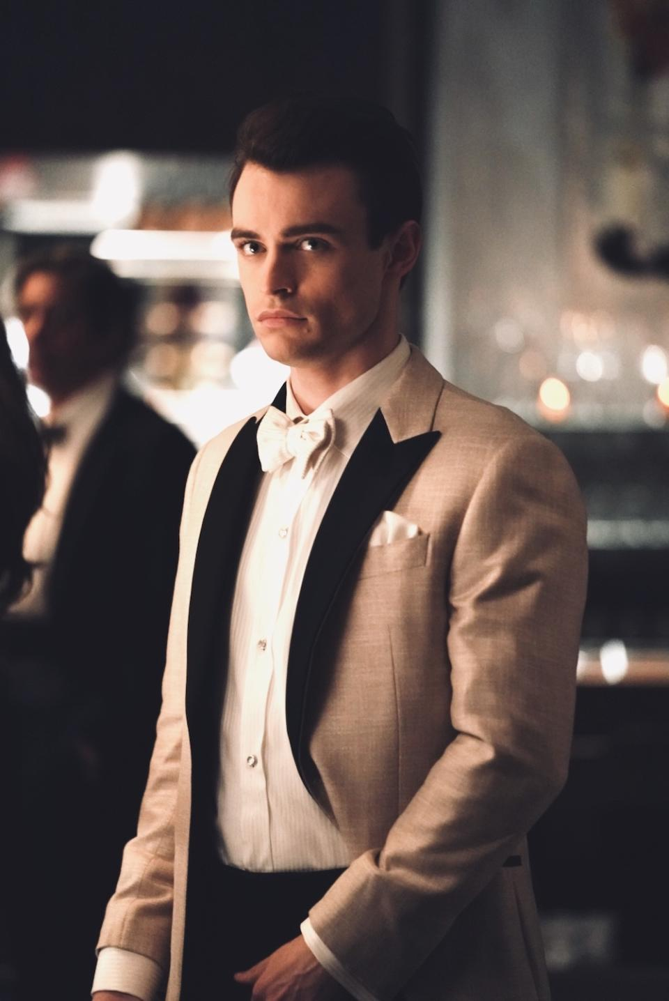Thomas Doherty as Max Wolfe in Gossip Girl. (HBO Max)