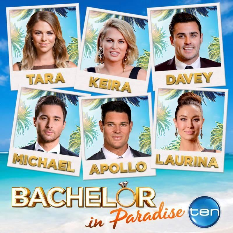 Tara, Keira, Davey, Michael, Apollo and Laurina are headed to paradise for another chance at love. Source: Channel Ten