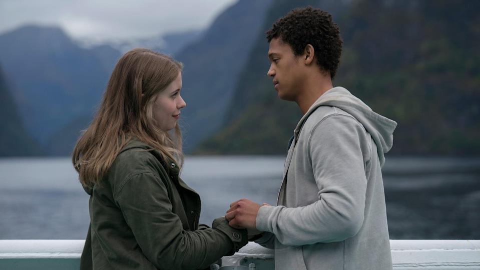 """<p>Runaway teen lovers June and Harry find their love getting even more confusing when they learn that June has the ability to shape-shift. As these young lovers try to control her new power, they learn that there are more shifters just like June.</p> <p><a href=""""https://www.netflix.com/title/80184405"""" class=""""link rapid-noclick-resp"""" rel=""""nofollow noopener"""" target=""""_blank"""" data-ylk=""""slk:Watch The Innocents on Netflix now"""">Watch <strong>The Innocents</strong> on Netflix now</a>.</p>"""