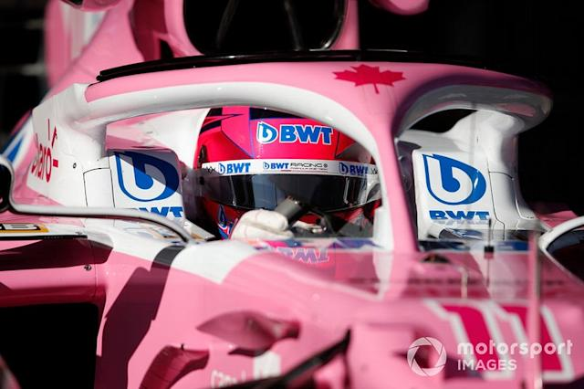 "Sergio Perez, Racing Point RP20 <span class=""copyright"">Zak Mauger / Motorsport Images</span>"