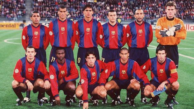 <p>Jose Mourinho watched over Xavi's first game for the Barcelona first-team, as boss Louis van Gaal opted to give his assistant the reigns for their Copa Catalunya fixture against Lleida. </p> <br><p>Xavi entered the field of play at just 18 years of age and helped his side to a narrow 2-1 victory, sending his side through to play CE Europa in the final. Unfortunately for Xavi, Barca missed out on the trophy on penalties following a 1-1 draw in normal time. </p>
