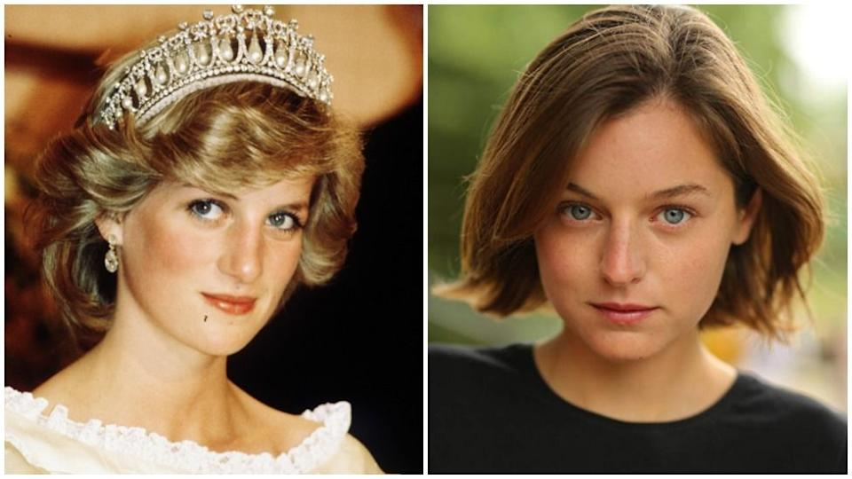 Cambridge graduate Emma Corrin has been cast to play the princess in Netflix series The Crown.