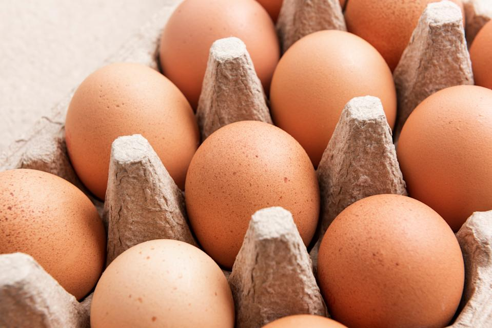 """<h1 class=""""title"""">Brown eggs in carton</h1><cite class=""""credit"""">HUIZENG HU/Getty Images</cite>"""