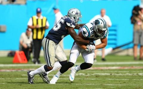 <span>The Carolina Panthers lost tight end Greg Olsen to injury against Dallas</span> <span>Credit: (Jeremy Brevard/USA Today) </span>