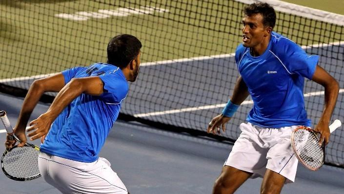 Bopanna and Balaji Take India to Davis Cup World Group Play-Offs