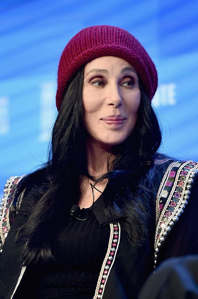 """<p>Cher was looking beautiful in 2016, just before her birthday. In March, she posted <a href=""""https://twitter.com/cher/status/709225267764396032/photo/1?ref_src=twsrc%5Etfw"""" rel=""""nofollow noopener"""" target=""""_blank"""" data-ylk=""""slk:a photo"""" class=""""link rapid-noclick-resp"""">a photo</a> of herself with her mother on social that had the world agog over the duo's agelessness. """"This is what 70 & 90 looks like in my family,"""" the diva humble-bragged. """"Mom has NO MAKE UP ON."""" Happy birthday, Cher! <i>(Photo: Getty Images)</i></p>"""