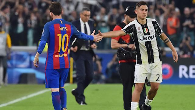 Messi Dybala Juventus Barcellona Champions League