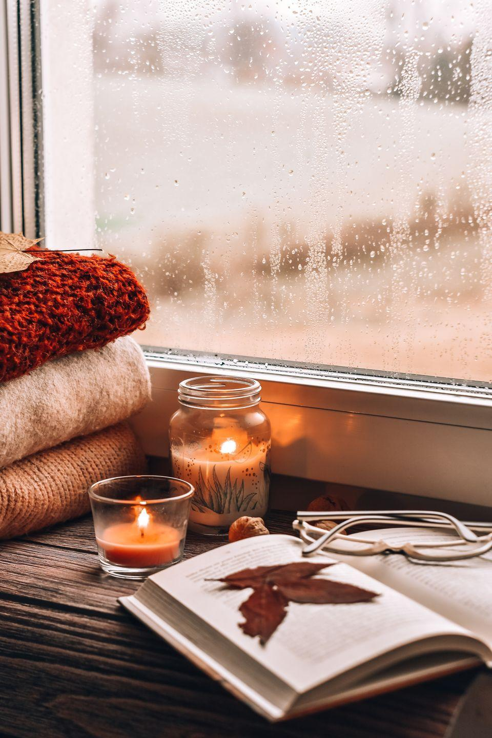 """<p>Soft pajamas, a comforting meal, your favorite Netflix show, and <a href=""""https://www.oprahmag.com/life/g23584712/best-scented-candles/"""" rel=""""nofollow noopener"""" target=""""_blank"""" data-ylk=""""slk:a scented candle"""" class=""""link rapid-noclick-resp"""">a scented candle</a>... what more could you possibly need? </p>"""