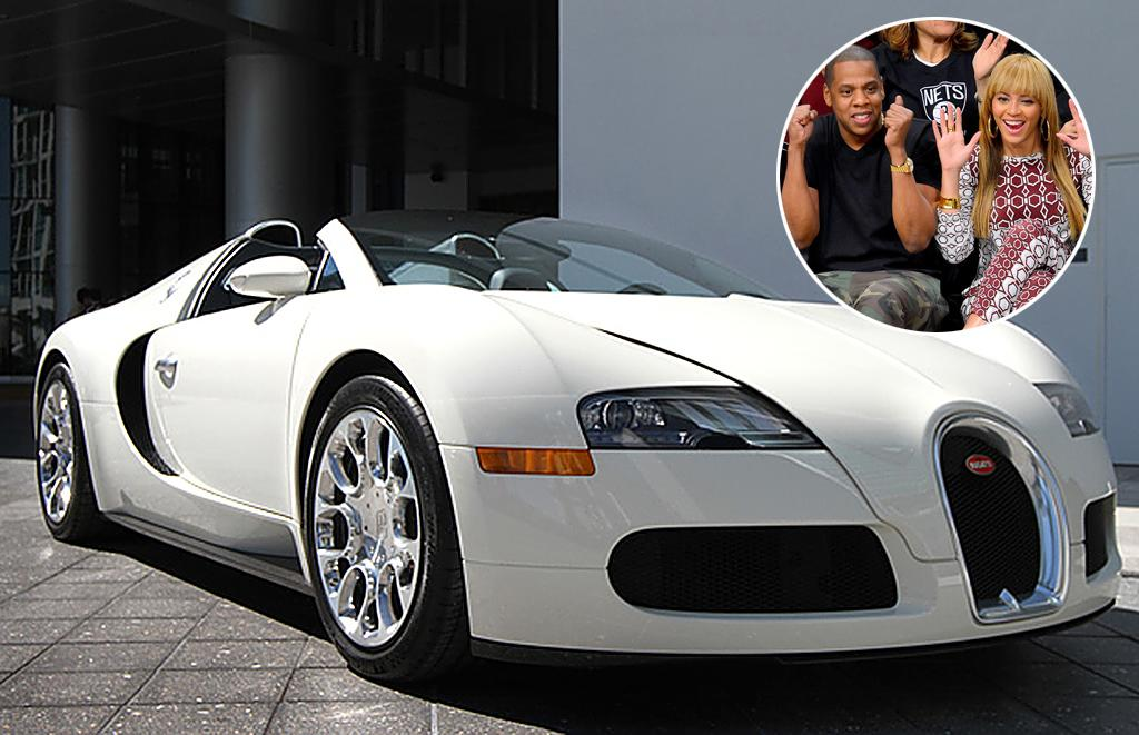 """<p><strong>Jay-Z and Beyonce<br />Bugatti Grand Sport<br />Approximate Base Price: $2 Million <br /></strong>What do you get the guy who has everything, or could at least buy it? For Jay-Z's 41st birthday in 2010, Beyonce presented her car enthusiast hubby with what <a href=""""http://abcnews.go.com/Entertainment/video/beyonce-gifts-jay-million-car-12362838"""" target=""""_blank"""">ABC News </a>called """"the most expensive car in the world"""": a $2 million Bugatti Grand Sport, which instantly became the crown jewel of his pricey car collection. Jay has such a thing for ritzy rides that he even gave one a supporting role in the video for one of his songs with Kanye West, """"Otis."""" The car aficionados opted to feature scenes in the vid of a blowtorch and a saw demolishing a $373,000 Maybach, which <a href=""""http://music.yahoo.com/blogs/amplifier/kanye-west-and-jay-z-auctioning-off-mutilated-373000-maybach-for-charity.html"""" target=""""_blank"""">they later auctioned off for charity.</a></p>"""