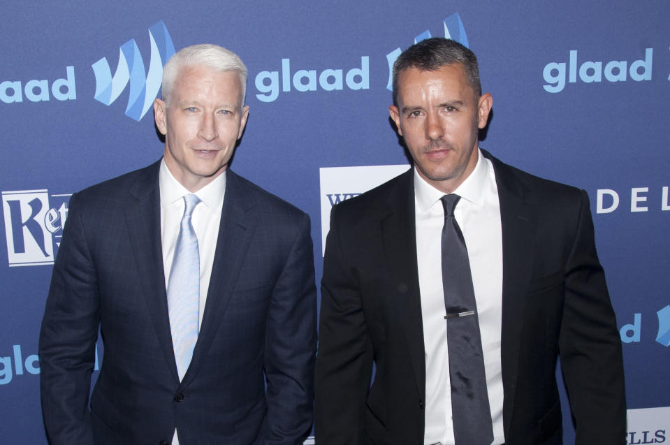 Anderson Cooper explains decision to co-parent with ex Benjamin Maisani. (Photo: Getty Images)