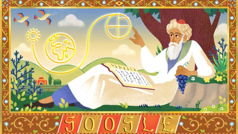 Persian mathematician Omar Khayyam's 971st birthday celebrated in Google Doodle