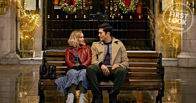 Emilia Clarke and Henry Golding in love! Get a sneak peek at Last Christmas
