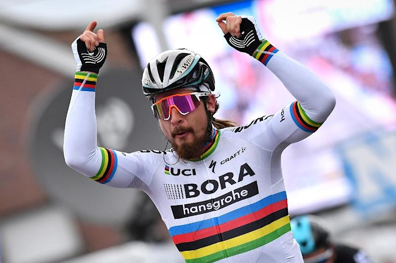 Slovakian cyclist Peter Sagan will be the man to beat in the Milan-San Remo