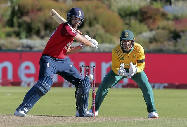 Malan was left stranded on 99 but it was enough for a whitewash