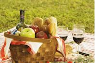 """<p>Here's an easy way to impress dad on his special day: Pack up some sandwiches, grab a blanket and then head out to your backyard for a family picnic. He'll definitely enjoy the sunshine and some fun backyard games, especially with all his favorite people around him. </p><p><a class=""""link rapid-noclick-resp"""" href=""""https://www.goodhousekeeping.com/food-recipes/g32347392/picnic-food-ideas/"""" rel=""""nofollow noopener"""" target=""""_blank"""" data-ylk=""""slk:PACK UP THESE PICNIC FOODS"""">PACK UP THESE PICNIC FOODS</a><br></p>"""