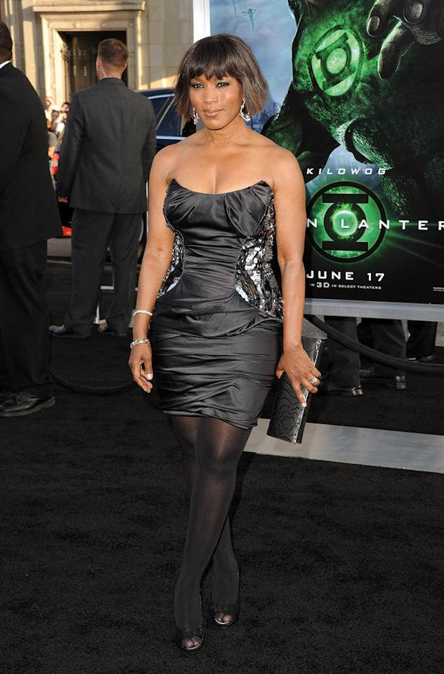 "<a href=""http://movies.yahoo.com/movie/contributor/1800022396"">Angela Bassett</a> at the Los Angeles premiere of <a href=""http://movies.yahoo.com/movie/1810166777/info"">Green Lantern</a> on June 15, 2011."