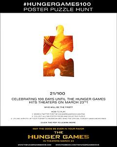 Hunger Games Puzzle Piece No. 21
