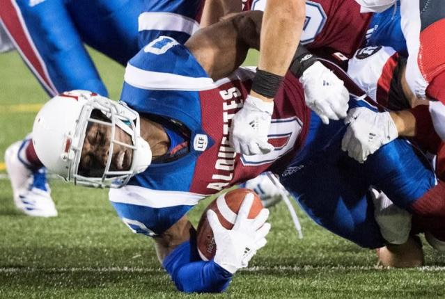 Trevor Harris throws 3 TDs to lift Redblacks over Alouettes 28-18