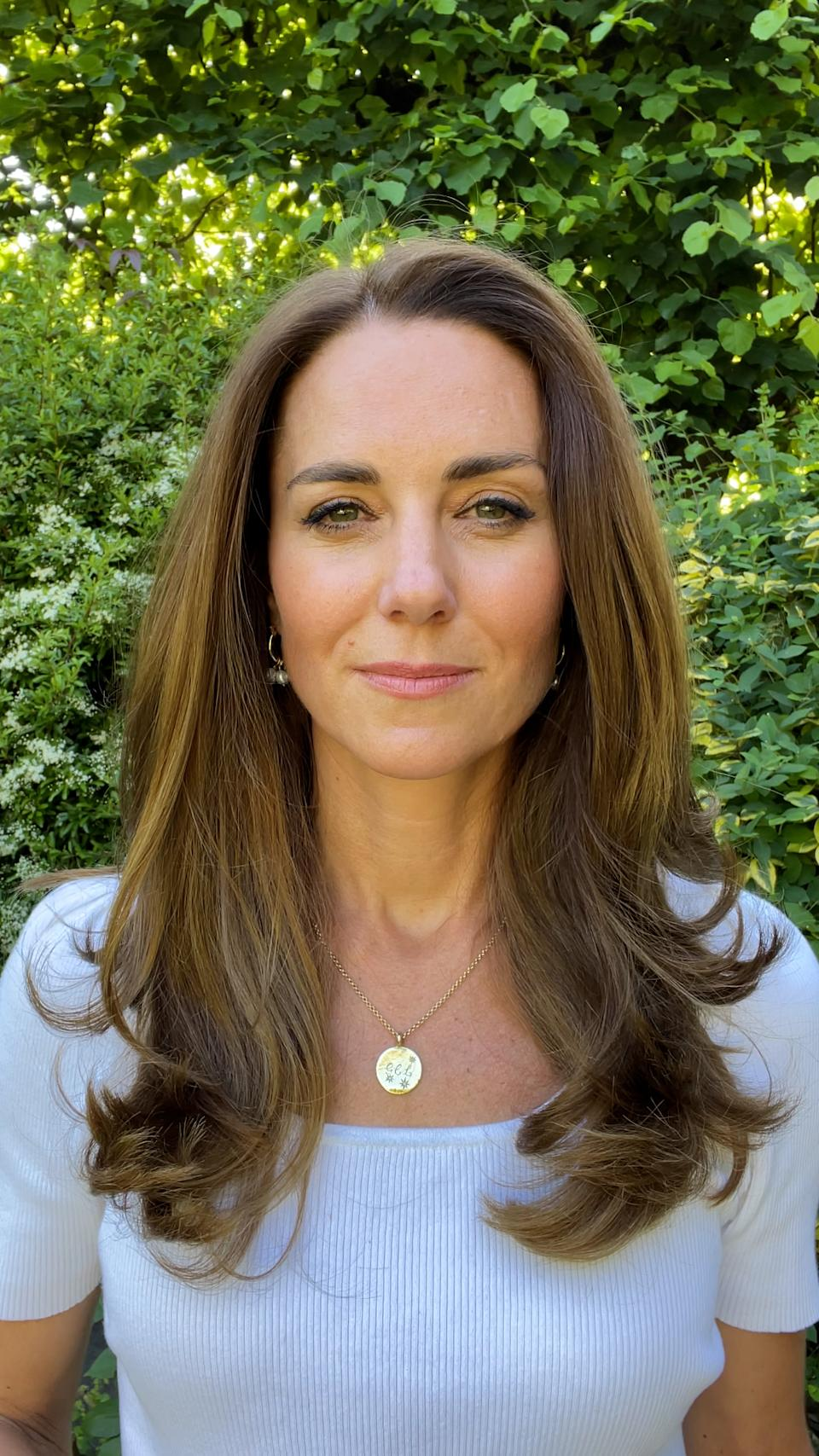 Kate launched her new project with a video shared on social media. (Royal Foundation/Kensington Palace)