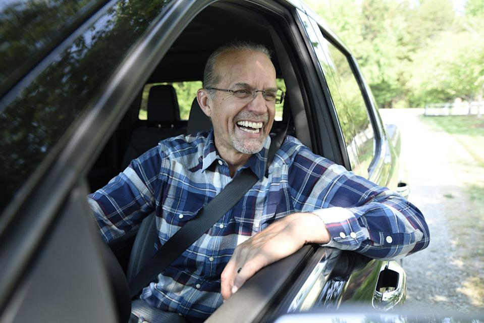 Kyle Petty in Driver Seat