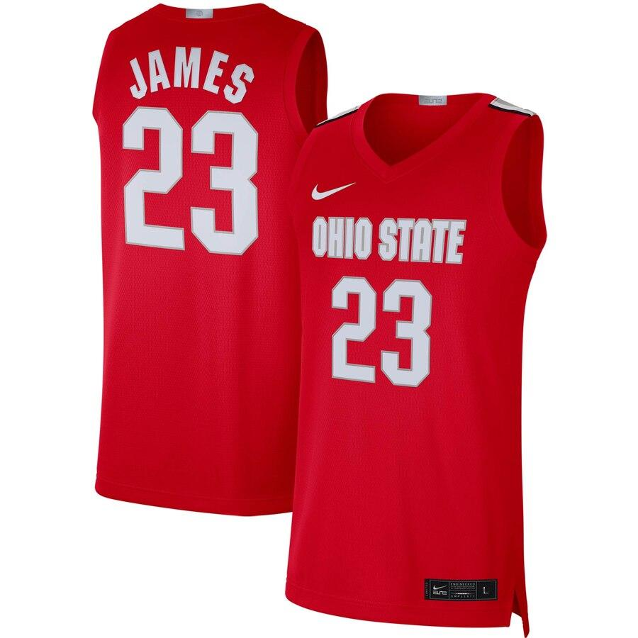 James Buckeyes Nike Alumni Limited Basketball Jersey