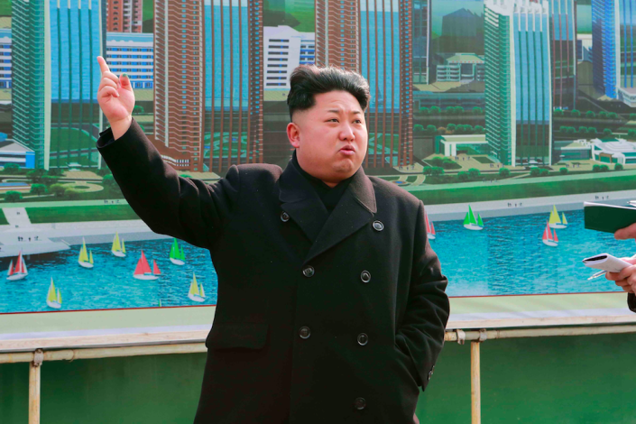 <em>The Commons defence select committee said Kim Jong-un was unlikely to use nuclear missiles against Britain (Rex)</em>